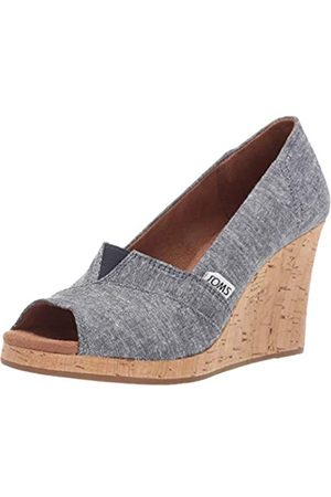 TOMS Damen Classic Wedge Keilabsatz-Sandale