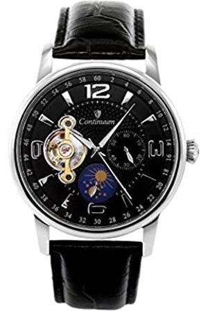 Continuum Herren Analog Automatik Uhr mit Leder Armband C15H19