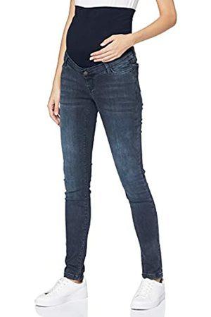 Esprit Damen Pants Denim OTB Skinny Jeans, Black Blue Wash-901