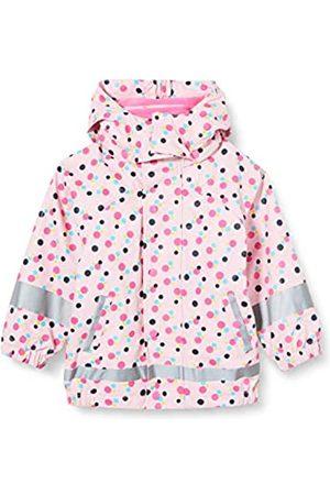 Sterntaler Mädchen Regenjacke mit Innenjacke, 3-in-1-Multifunktionsjacke, Mit Punktmuster, Alter: 3-4 Jahre
