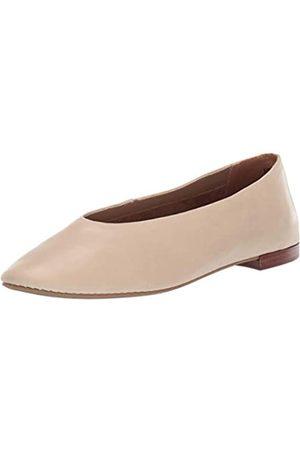Aerosoles Damen Front Runner Ballett flach, Beige (Knochenleder)