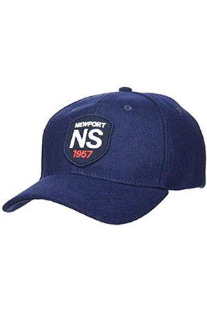 North Sails NORTH SAILS Herren Baseball Kappe in Navy Blau Mit Verstellbarer Rückwärtiger Schnalle - Gesticktes Frontlogo - Eine Größe