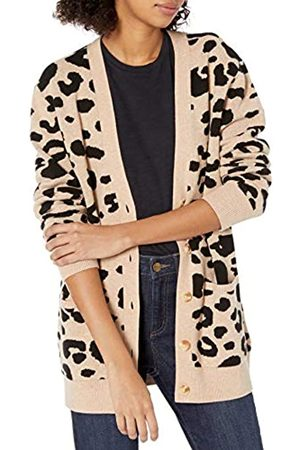 Daily Ritual Damen Strickpullover - Ultra-Soft Jacquard Cardigan Sweater Pullover