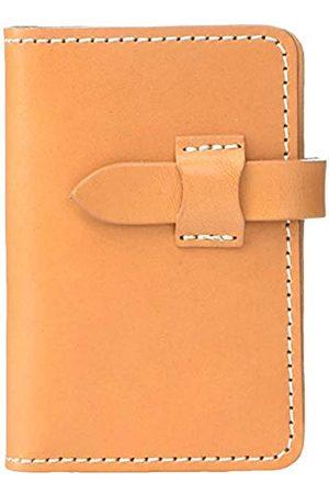 Naniwa Leather Naniwa Leather Tochigi Kartenetui aus Leder (Beige) - 4589542639924