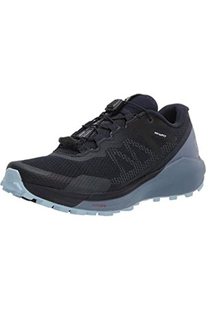 Salomon Damen Shoes Sense Ride Laufschuhe, Mehrfarbig (Navy Blazer/Flint Stone/Angel Falls)
