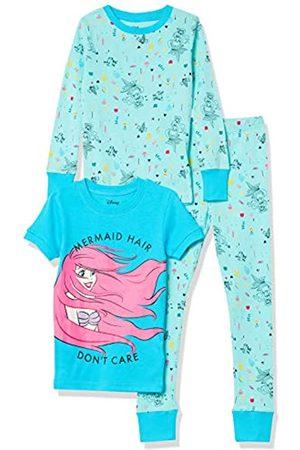 Spotted Zebra Mädchen Schlafanzüge - Disney Star Wars Marvel Frozen Princess Snug-Fit Cotton Pajamas Sleepwear Pajama-Sets XS