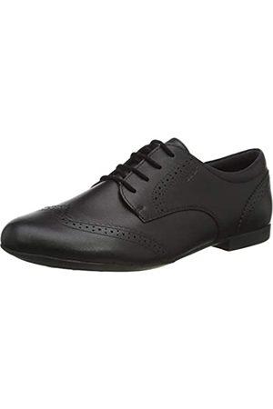 Geox Geox JR PLIE' B School Uniform Shoe, Schwarz (Black)