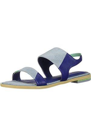 Kelsi Dagger Damen Rogan Flache Sandale, Blaubeere/Periwinkle