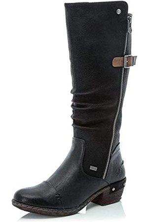 Rieker 93654-00 Damen Stiefel, warm, gefüttert
