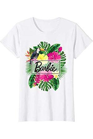 Barbie Damen Shirts - Damen T-Shirt, Blumen, Tropisch