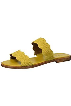 Frye Damen Mira Wave Slide Flache Sandale
