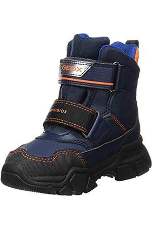 Geox J NEVEGAL Boy ABX D Snow Boot, Navy/