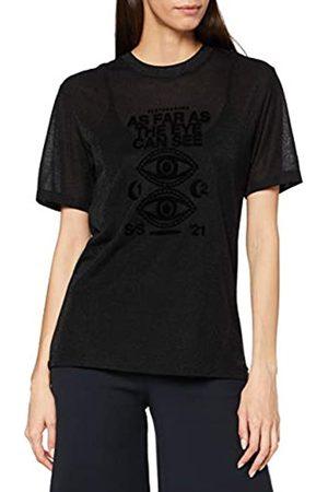 Scotch&Soda Maison Womens Artwork LENZING ECOVERO-Mischung T-Shirt