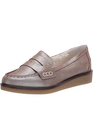 Aerosoles Flache Damen-Slipper, (Silberfarben metallisch)