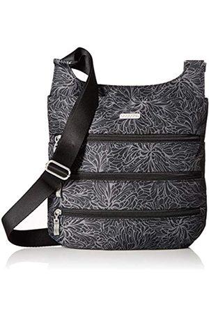 Baggallini Damen Big Zipper Bagg with RFID Konvertierbare Crossbody-Tasche