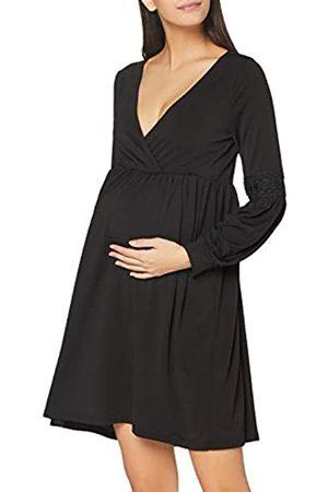 Mama Licious Damen Freizeitkleider - Damen Mlluanda Tess L/S Jersey Abk Dress 2f Kleid
