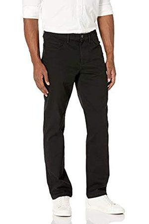 Goodthreads Herren Chinos - Amazon-Marke: Herrenhose, gerade Passform, 5-Pocket, mit komfortablem Stretch, Chino-Stil, Black
