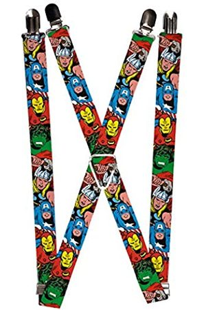 Buckle-Down Herren Suspender-Avengers Strumpfhalter