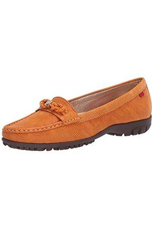 Marc Joseph New York Damen Leder Made in Brazil Orchard Street Golf Schuh, Orange (Cheddar Glasur)