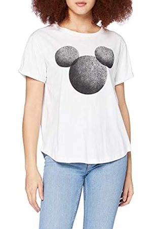 Disney Disney Damen Mickey Mouse Faded Silhouette T-Shirt