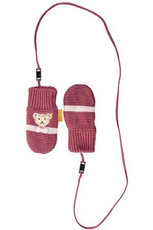 Steiff Baby-Mädchen mit süßer Teddybärapplikation Babyfäustlinge