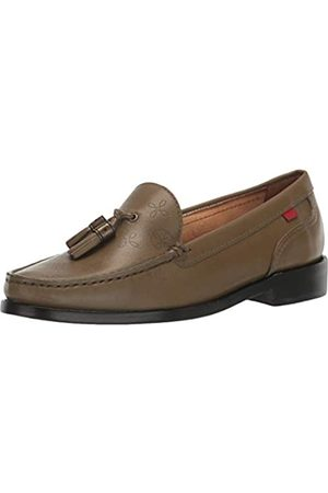 Marc Joseph New York Damen Leather Made in Brazil West End Tassle Halbschuhe