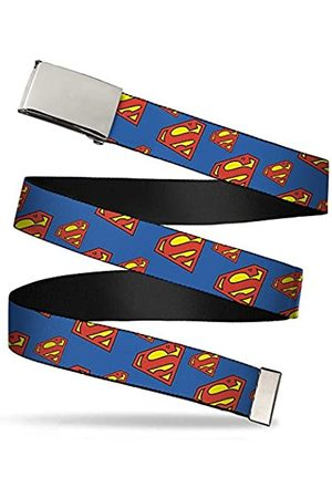 "Buckle-Down Unisex, Erwachsene Web Belt Superman 1.25"" Gürtel"