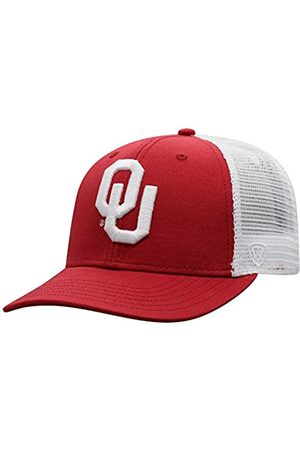 Top of the World Top of the World NCAA Oklahoma Sooners Herren BB Trucker Hat Team Farbe Primary Icon, Oklahoma Sooners Red
