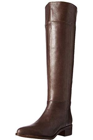 Franco Sarto Daya Damen Overknee Stiefel, Grau (Stahl)