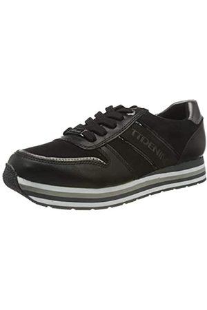 TOM TAILOR Damen 9095501 Sneaker, Black