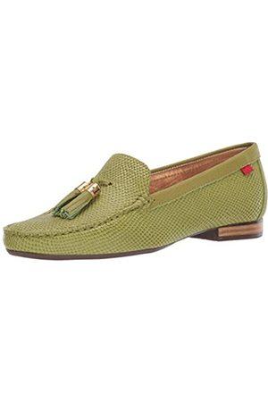 Marc Joseph New York Damen Womens Leather Made in Brazil Wall Street Loafer Halbschuhe, Apple Cobra/Nappa