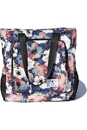 ESVAN Große Reisetasche, wasserabweisend, Schultertasche, leicht, für Männer und Frauen, Unisex, Braun ( Blume)