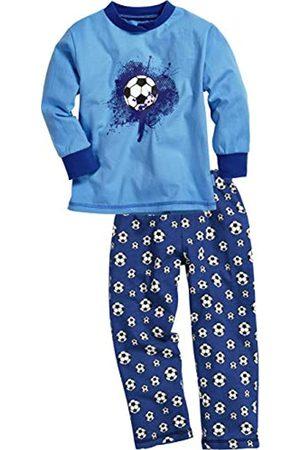 Playshoes Jungen Single-Jersey Fußball Zweiteiliger Schlafanzug