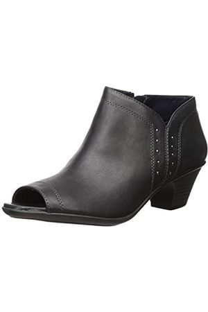 Easy Street Women's Voyage Open Toe Bootie with Mini Studs Ankle Boot
