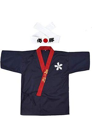 Elibelle Japanischer Sushi-Koch-Mantel, Uniformen, Kimono, für Unisex