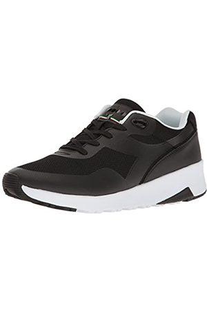 Diadora Unisex-Erwachsene Evo Run Sneaker Low Hals, (Nero)