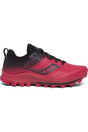 Saucony Damen Peregrine 10 St Barberry/Black Leichtathletik-Schuh