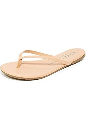 Tkees Damen Foundation Flip Flop, Pink (Nude Beach)