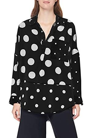 French Connection Damen ALANGA Dotty Popover Shirt Bluse, /