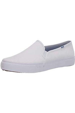 Keds Damen Double Decker Canvas Sneaker, White