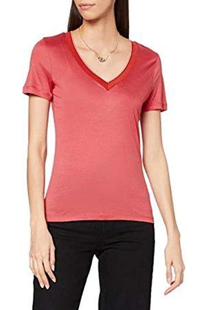 Scotch&Soda Maison Womens Tencel mit V-Ausschnitt T-Shirt