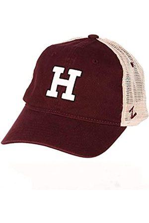 Zulu & Zephyr Harvard Crimson NCAA Erwachsene Relaxed Fit University Meshback Hat – Team-Farbe, Herren