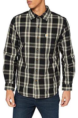 Carhartt Carhartt Herren Long-Sleeve Essential Open Collar Plaid Shirt