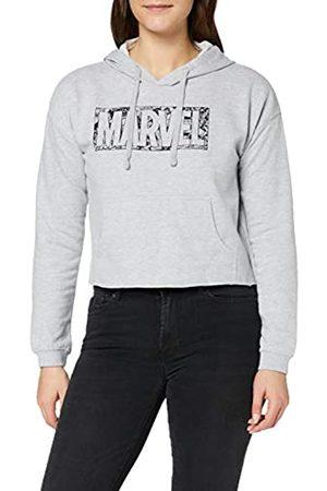 Marvel Damen Comic Logo Hood Kapuzenpullover