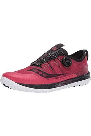Saucony Damen Switchback ISO Walking-Schuh, Barberry/Black