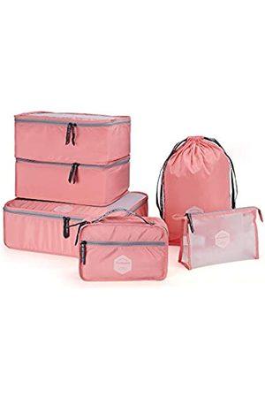 m square M Square Reiseverpackungswürfel, 6 Stück, Packwürfel, Reisetaschen