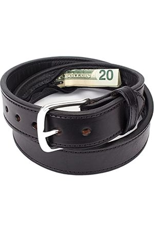 Yoder Leather Company Versteckte Geldtasche Reise Ledergürtel - - 96.52 cm (Taille 36)