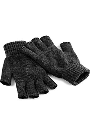Beechfield Herren Fingerless Gloves Charcoal L/XL Winter-Handschuhe