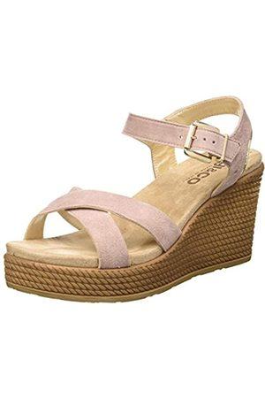 IGI&CO Damen Sandalo Donna DTG 51808 Plateau Sandalen, Pink (Cipria 5180822)