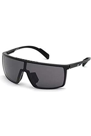 adidas Unisex-Erwachsene SP0004 Sonnenbrille, Shiny Black/Smoke